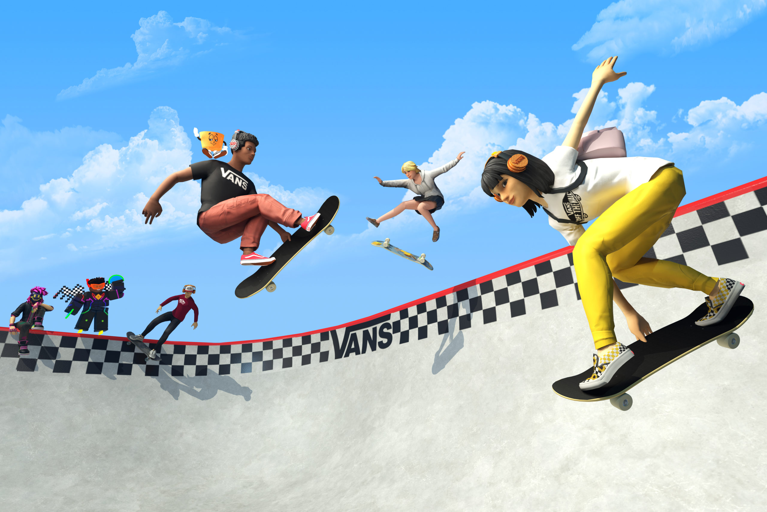 """vans-launches-""""vans-world""""-skatepark-experience-in-the-roblox-metaverse"""